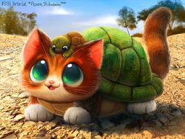 3136. Tortie Cat