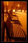 snow at night II by atut