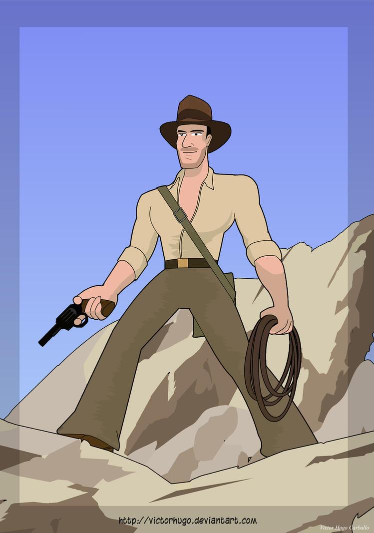 Indiana Jones by VictorHugo