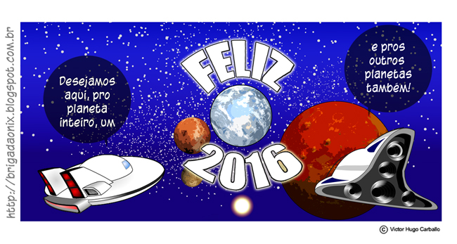 Happy 2016 to the entire planet by VictorHugo