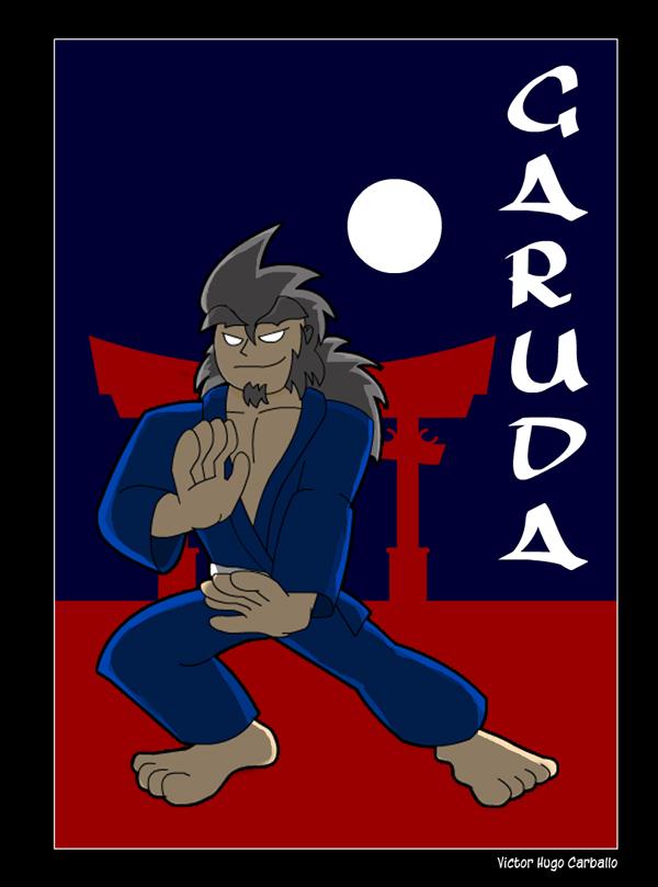 Garuda, the Judo master by VictorHugo