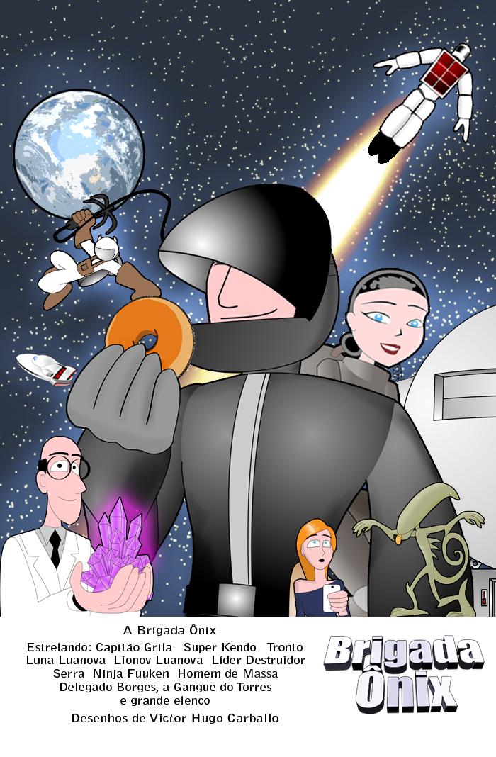 Onyx Brigade poster by VictorHugo