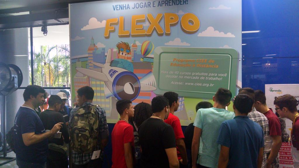 Poster para a Feira do Estudante - CIEE - Flexpo by VictorHugo