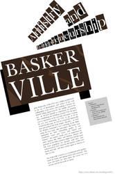 Typographic poster by VictorHugo