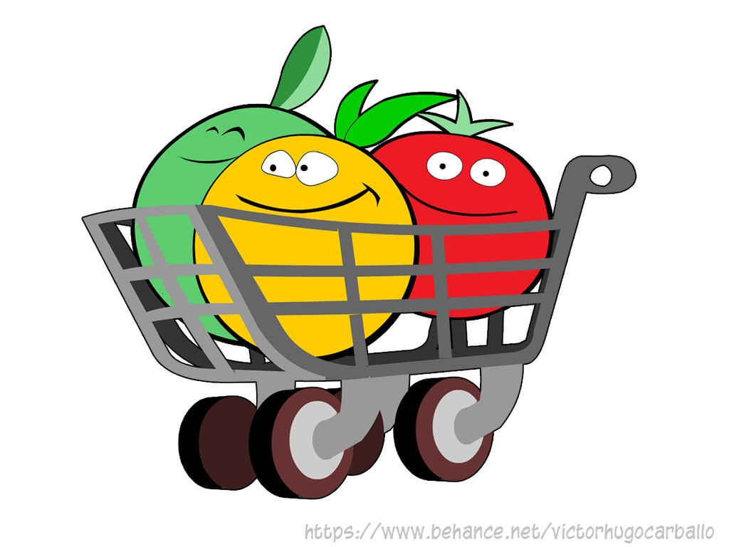 Logo for a  grocery delivery service by VictorHugo