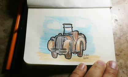 Jalopy doodle