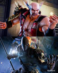 Heihachi vs Deathstroke