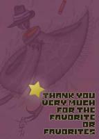 Remerciement favoris by JH-la-Chapeaute