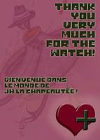 Remerciement watch by JH-la-Chapeaute