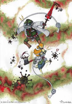 Dr Doom and Dr Isabelle VS Coronavirus