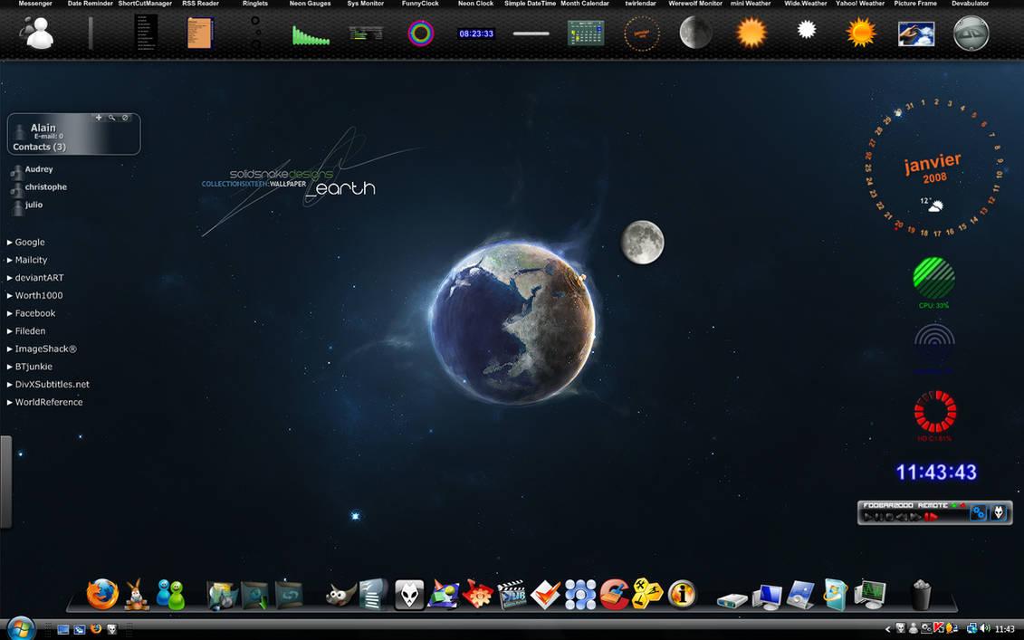 My Desktop Jan 2008