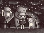 I'm Sad because Only Bears... by o0Amphigory0o