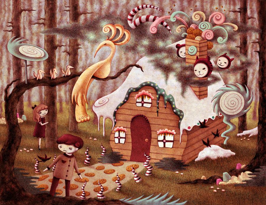 Hansel and Gretel by o0Amphigory0o