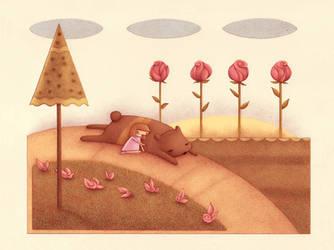 Bear Nap by o0Amphigory0o