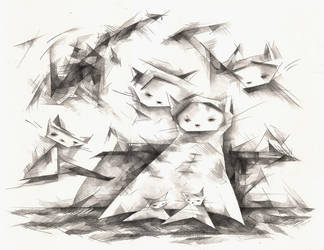Grr Cats by o0Amphigory0o