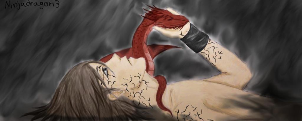 Murtagh and Thorn by NinjaDragon3