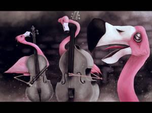FlamingoVioloncell