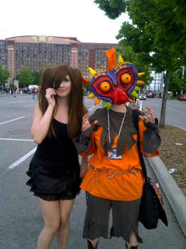 /e/ tan and Skull Kid