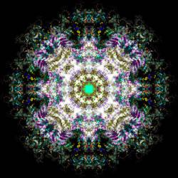 30 Sept 2012 Mandala by Discarn8