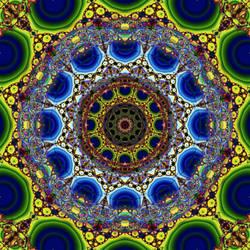 3 October 2012 Mandala by Discarn8