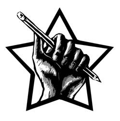 Writers' Bloc logo by dr-worm