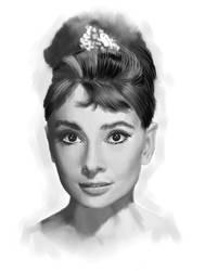 Audrey Hepburn by avb2008