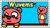 NM: Wuvems stamp by AppleCherry