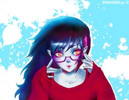 Today, Marceline's rocking glasses