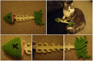 Crochet Little Skelly Fish by katrivsor