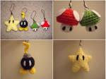 Crochet Super Mario Keychains
