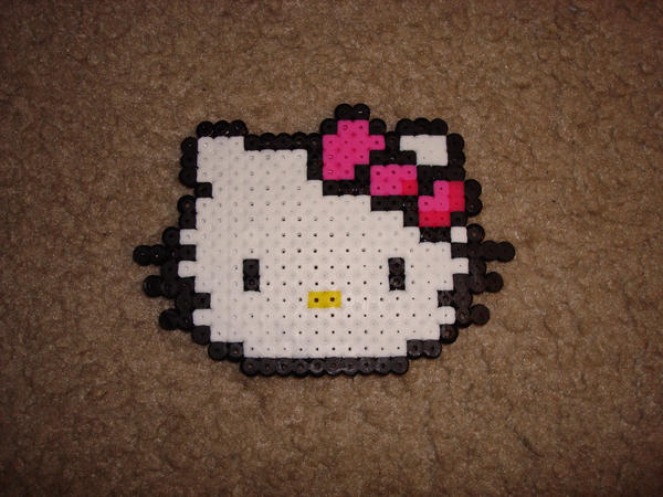 Hello Kitty Beading Pattern by ~lenneheartly on deviantART