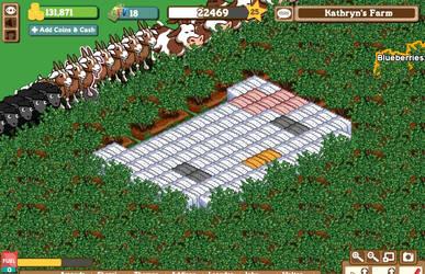 Facebook Farmville Hello Kitty by katrivsor