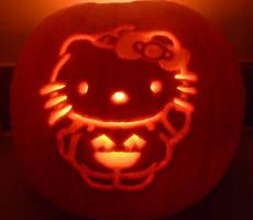 HelloKitty Halloween09 Pumpkin by katrivsor