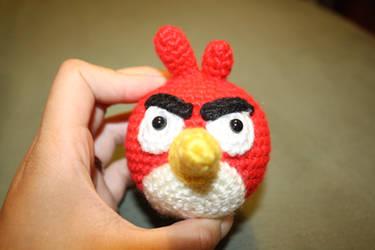 Crochet Amigurumi Angry Bird by katrivsor