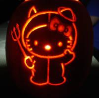 Hello Kitty Pumpkin 2011 by katrivsor