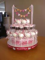 Hello Kitty Oreo Truffle Pops by katrivsor