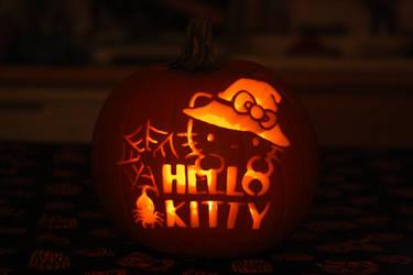 2013 Hello Kitty Pumpkin by katrivsor