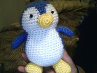 Crochet Pattern Free Penguin : Crochet Penguin by katrivsor on DeviantArt