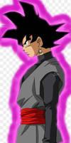 Goku b with  aura