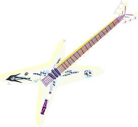 Snow Flower's Rockin' Metal Guitar