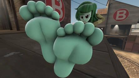 My Big Minty Feet tease