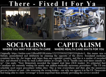 Socialism v Capitalism - Really