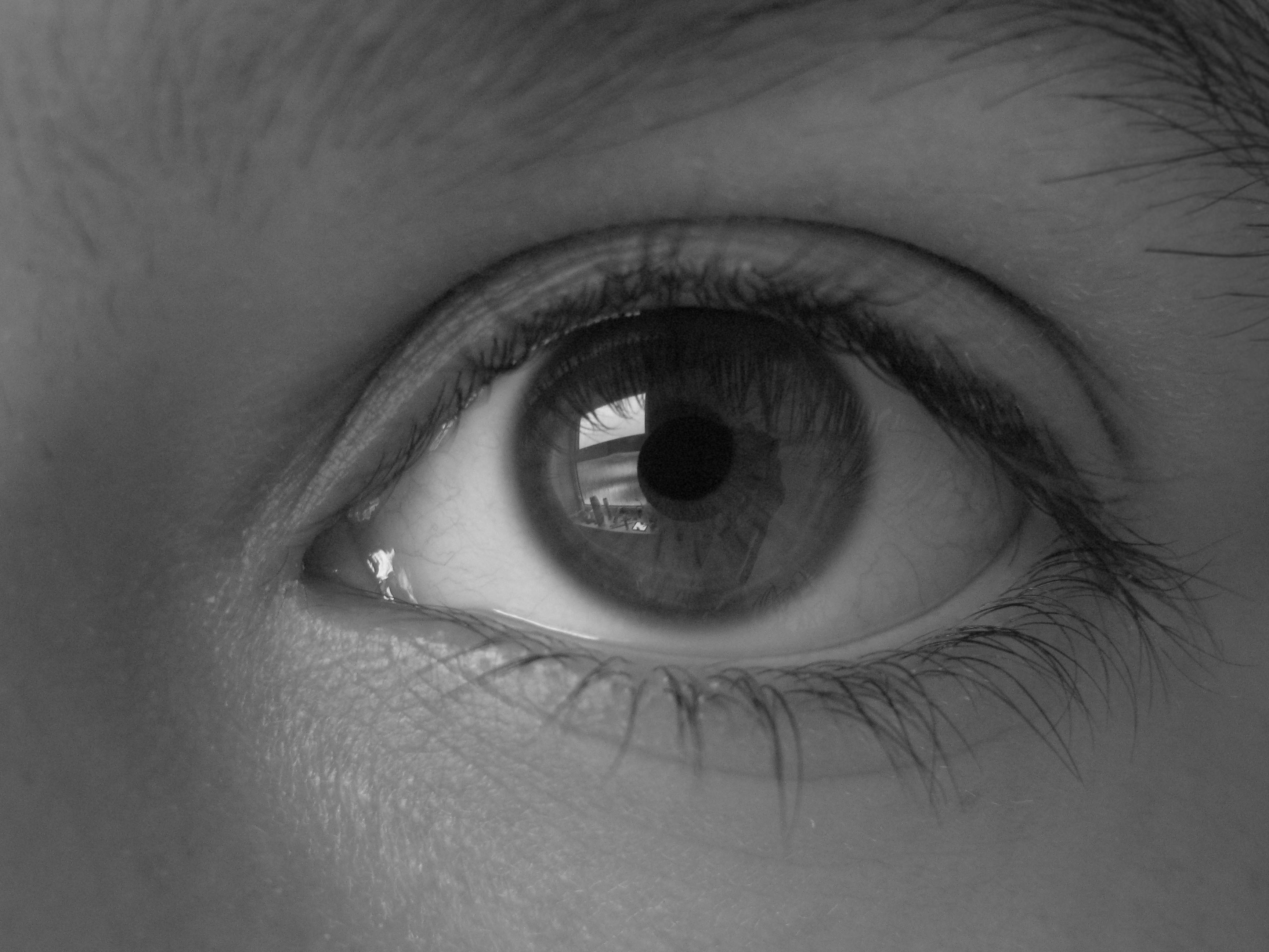 Black and white eye by 666squirrelofdeath i 3 666squirrelofdeaths profile picture