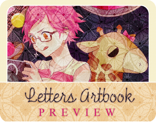 Letters Artbook: Preview by banwa