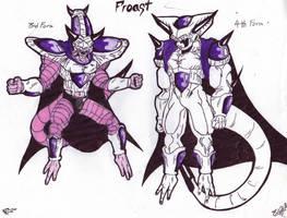 DBZ Villain OC: Froast by blazewb
