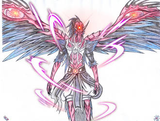 Jatayu: Hindu God, Demon Vulture by blazewb