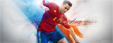 Xavi Spain by marco11EXP