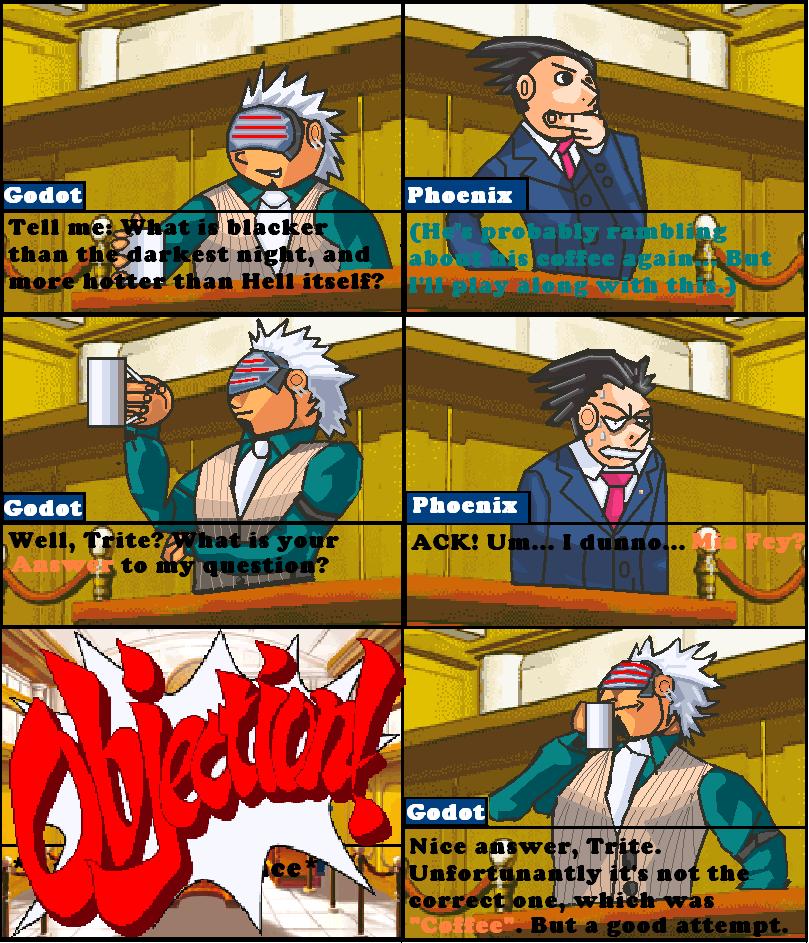 Random Phoenix Wright Comic By Nightmarebros On Deviantart