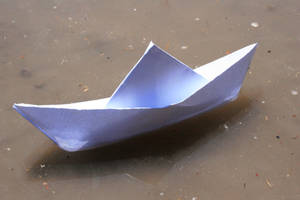 paper boat by SStocker
