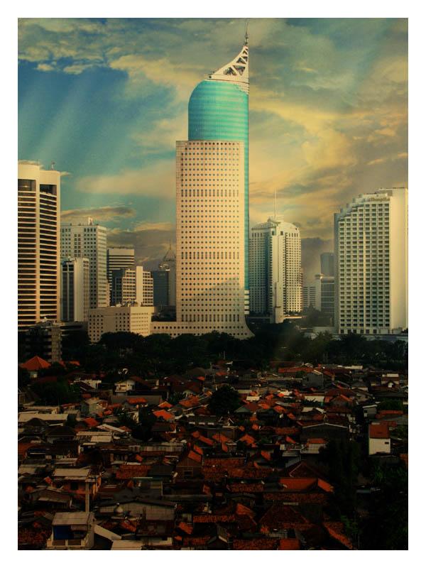 Rhythm of Jakarta by rizalcuk